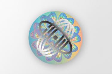 hologram personalizowany z logo