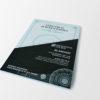 Certyfikat autentyczności, z hologramem i numeracją UV, Pakiet 50 sztuk #3