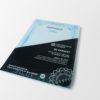 Certyfikat zabezpieczony, z hologramem i numeracją UV, Pakiet 50 sztuk #1