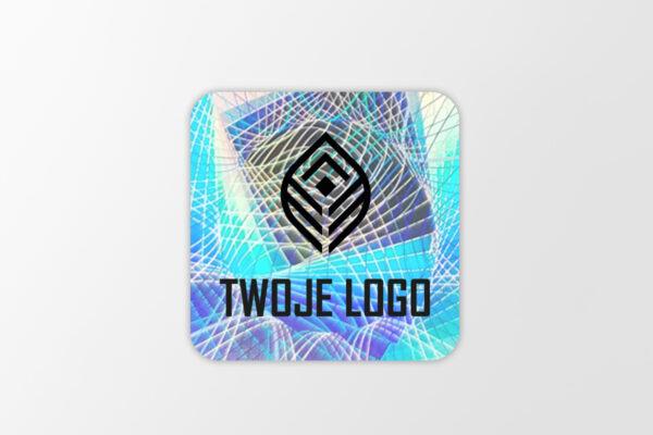 Hologram zabezpieczający z logo, Holo Move, 20 x 20 mm #1